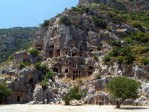 Rock tombs in Myra 1