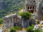 Rock tombs in Myra 2