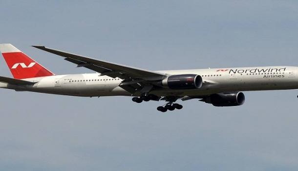 Самолет Nordwind совершил вынужденную посадку в Москве