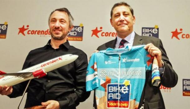 Corendon Airlines sponsert Tour of Antalya-Teilnahme der deutschen Radsportmannschaft Bike Aid