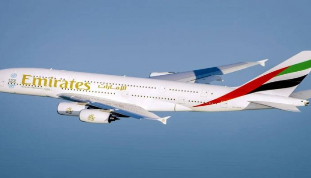 Emirates' flagship A380 returns to Moscow